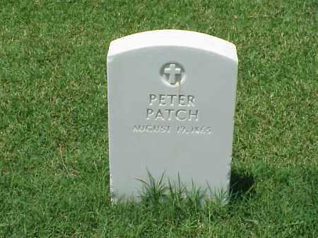 PATCH, PETER - Pulaski County, Arkansas | PETER PATCH - Arkansas Gravestone Photos