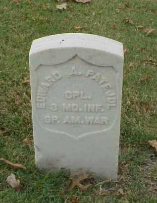 PATE, JDL (VETERAN SAW), EDWARD A - Pulaski County, Arkansas | EDWARD A PATE, JDL (VETERAN SAW) - Arkansas Gravestone Photos