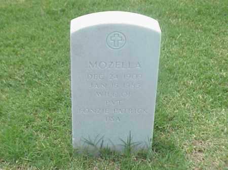 PATRICK, MOZELLA - Pulaski County, Arkansas | MOZELLA PATRICK - Arkansas Gravestone Photos