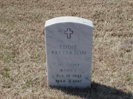 PATTERSON (VETERAN KOR), EDDIE - Pulaski County, Arkansas | EDDIE PATTERSON (VETERAN KOR) - Arkansas Gravestone Photos