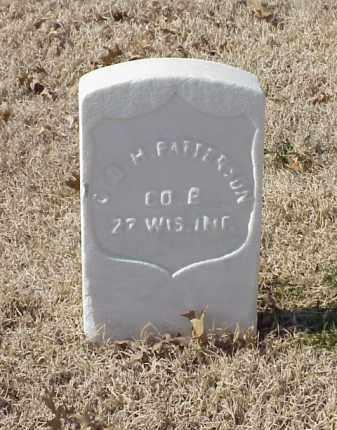 PATTERSON (VETERAN UNION), GEORGE H - Pulaski County, Arkansas   GEORGE H PATTERSON (VETERAN UNION) - Arkansas Gravestone Photos