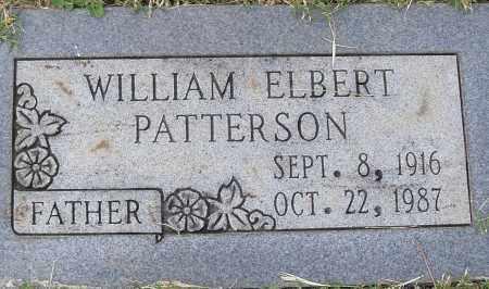 PATTERSON, WILLIAM ELBERT - Pulaski County, Arkansas | WILLIAM ELBERT PATTERSON - Arkansas Gravestone Photos