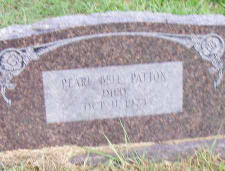 BELL PATTON, PEARL - Pulaski County, Arkansas | PEARL BELL PATTON - Arkansas Gravestone Photos