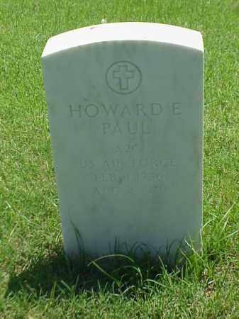 PAUL (VETERAN), HOWARD E - Pulaski County, Arkansas   HOWARD E PAUL (VETERAN) - Arkansas Gravestone Photos