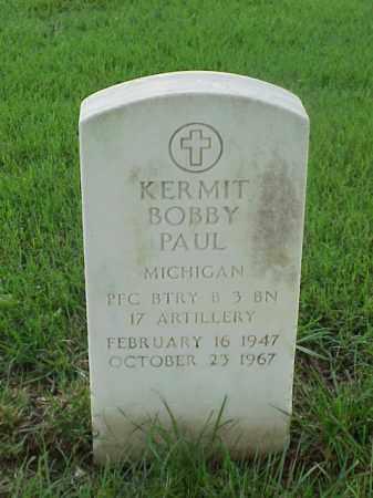 PAUL (VETERAN), KERMIT BOBBY - Pulaski County, Arkansas   KERMIT BOBBY PAUL (VETERAN) - Arkansas Gravestone Photos