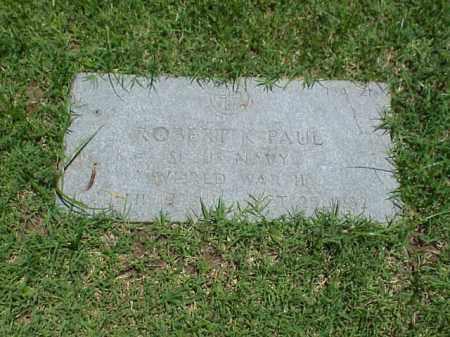 PAUL (VETERAN WWII), ROBERT K - Pulaski County, Arkansas | ROBERT K PAUL (VETERAN WWII) - Arkansas Gravestone Photos