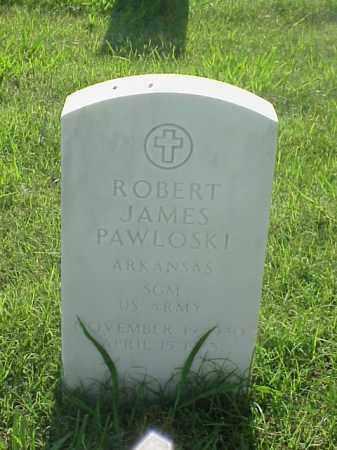 PAWLOSKI (VETERAN VIET), ROBERT JAMES - Pulaski County, Arkansas | ROBERT JAMES PAWLOSKI (VETERAN VIET) - Arkansas Gravestone Photos