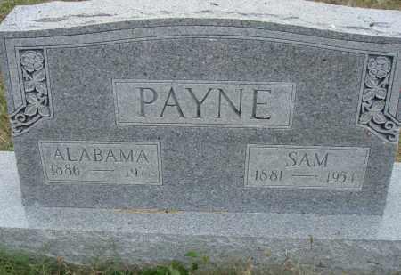 PAYNE, ALABAMA - Pulaski County, Arkansas | ALABAMA PAYNE - Arkansas Gravestone Photos