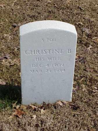 PAYNE, CHRISTINE B - Pulaski County, Arkansas   CHRISTINE B PAYNE - Arkansas Gravestone Photos