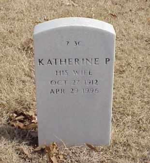 PAYNE, KATHERINE P - Pulaski County, Arkansas   KATHERINE P PAYNE - Arkansas Gravestone Photos