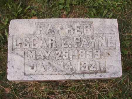 PAYNE, OSCAR E - Pulaski County, Arkansas   OSCAR E PAYNE - Arkansas Gravestone Photos