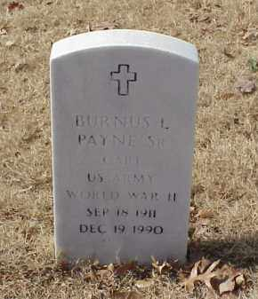 PAYNE, SR (VETERAN WWII), BURNUS L - Pulaski County, Arkansas | BURNUS L PAYNE, SR (VETERAN WWII) - Arkansas Gravestone Photos