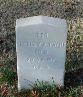 PAYNE (VETERAN CSA), CHESLEY A - Pulaski County, Arkansas | CHESLEY A PAYNE (VETERAN CSA) - Arkansas Gravestone Photos