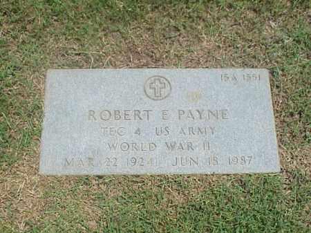 PAYNE (VETERAN WWII), ROBERT E - Pulaski County, Arkansas   ROBERT E PAYNE (VETERAN WWII) - Arkansas Gravestone Photos