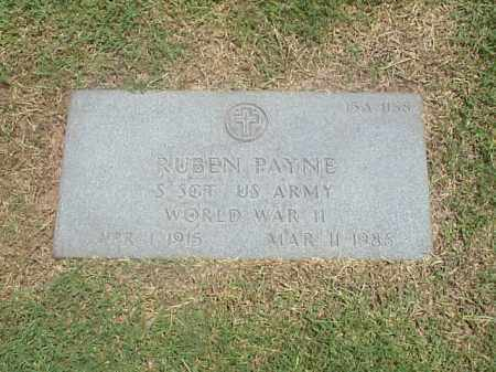 PAYNE (VETERAN WWII), RUBEN - Pulaski County, Arkansas | RUBEN PAYNE (VETERAN WWII) - Arkansas Gravestone Photos