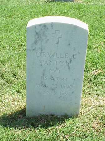 PAYTON (VETERAN), ORVILLE E - Pulaski County, Arkansas   ORVILLE E PAYTON (VETERAN) - Arkansas Gravestone Photos