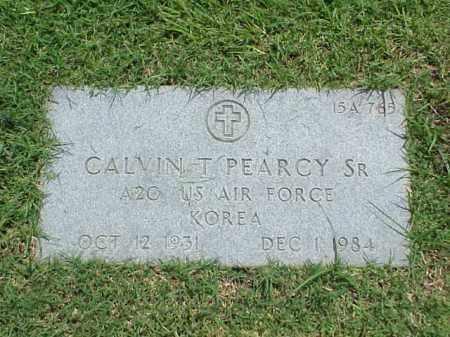 PEARCY, SR (VETERAN KOR), CALVIN T - Pulaski County, Arkansas | CALVIN T PEARCY, SR (VETERAN KOR) - Arkansas Gravestone Photos