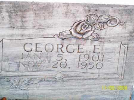 PEARCY, GEORGE E - Pulaski County, Arkansas   GEORGE E PEARCY - Arkansas Gravestone Photos