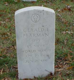 PEARMAN (VETERAN WWII), GERALD I - Pulaski County, Arkansas   GERALD I PEARMAN (VETERAN WWII) - Arkansas Gravestone Photos
