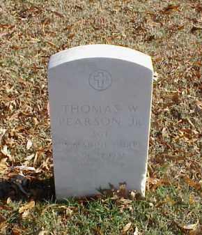 PEARSON, JR (VETERAN KOR), THOMAS W - Pulaski County, Arkansas | THOMAS W PEARSON, JR (VETERAN KOR) - Arkansas Gravestone Photos