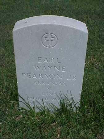 PEARSON, JR (VETERAN WWII), EARL WAYNE - Pulaski County, Arkansas | EARL WAYNE PEARSON, JR (VETERAN WWII) - Arkansas Gravestone Photos