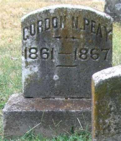 PEAY (VETERAN CSA), GORDON N - Pulaski County, Arkansas | GORDON N PEAY (VETERAN CSA) - Arkansas Gravestone Photos