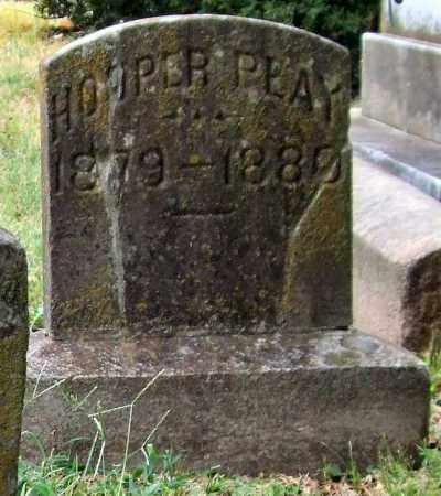 PEAY, HOOPER - Pulaski County, Arkansas | HOOPER PEAY - Arkansas Gravestone Photos