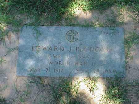 PECHOSKI (VETERAN WWII), EDWARD J - Pulaski County, Arkansas   EDWARD J PECHOSKI (VETERAN WWII) - Arkansas Gravestone Photos