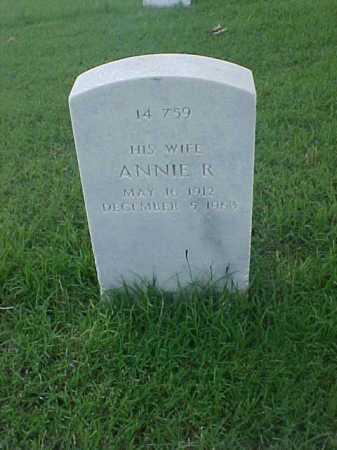 PEEL, ANNIE R. - Pulaski County, Arkansas   ANNIE R. PEEL - Arkansas Gravestone Photos
