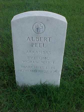 PEEL (VETERAN WWI), ALBERT - Pulaski County, Arkansas | ALBERT PEEL (VETERAN WWI) - Arkansas Gravestone Photos