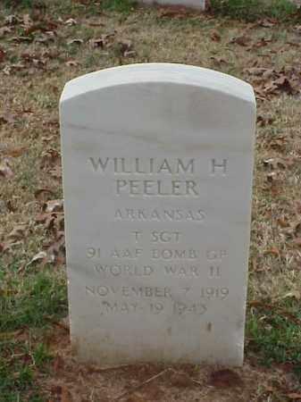 PEELER (VETERAN WWII), WILLIAM H - Pulaski County, Arkansas | WILLIAM H PEELER (VETERAN WWII) - Arkansas Gravestone Photos