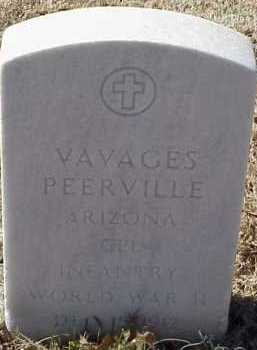 PEERVILLE  (VETERAN WWII), VAVAGES - Pulaski County, Arkansas | VAVAGES PEERVILLE  (VETERAN WWII) - Arkansas Gravestone Photos