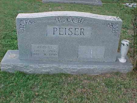 PEISER, ROBERT - Pulaski County, Arkansas | ROBERT PEISER - Arkansas Gravestone Photos