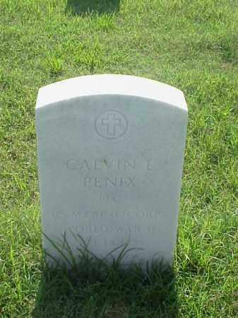 PENIX (VETERAN WWII), CALVIN L - Pulaski County, Arkansas   CALVIN L PENIX (VETERAN WWII) - Arkansas Gravestone Photos