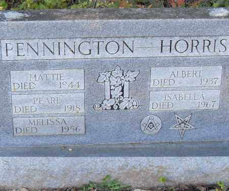 PENNINGTON, PEARL - Pulaski County, Arkansas | PEARL PENNINGTON - Arkansas Gravestone Photos