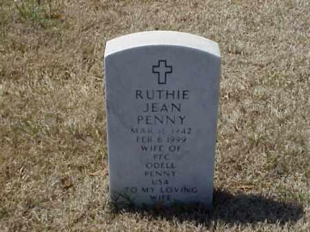 PENNY, RUTHIE JEAN - Pulaski County, Arkansas | RUTHIE JEAN PENNY - Arkansas Gravestone Photos
