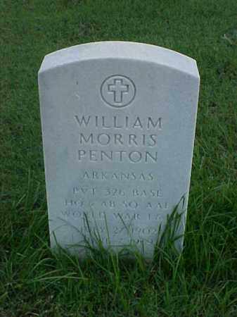 PENTON (VETERAN 2 WARS), WILLIAM MORRIS - Pulaski County, Arkansas | WILLIAM MORRIS PENTON (VETERAN 2 WARS) - Arkansas Gravestone Photos