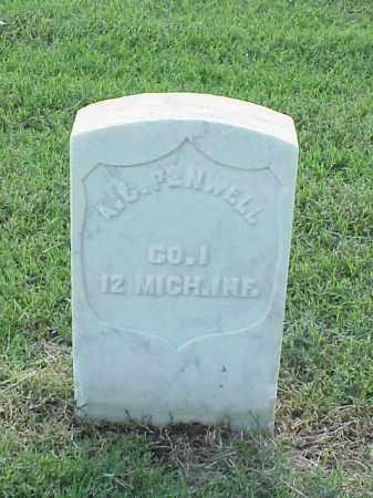 PENWELL (VETERAN UNION), A C - Pulaski County, Arkansas   A C PENWELL (VETERAN UNION) - Arkansas Gravestone Photos