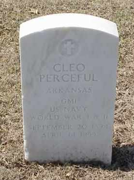 PERCEFUL  (VETERAN 2 WARS), CLEO - Pulaski County, Arkansas | CLEO PERCEFUL  (VETERAN 2 WARS) - Arkansas Gravestone Photos