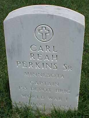 PERKINS SR (VETERAN WWI), CARL REAH - Pulaski County, Arkansas   CARL REAH PERKINS SR (VETERAN WWI) - Arkansas Gravestone Photos
