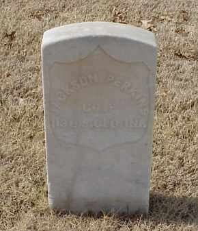 PERKINS (VETERAN UNION), JACKSON - Pulaski County, Arkansas | JACKSON PERKINS (VETERAN UNION) - Arkansas Gravestone Photos