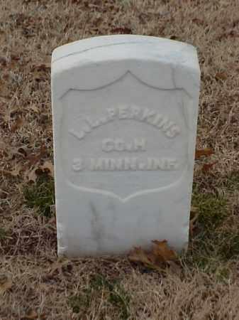 PERKINS (VETERAN UNION), L L - Pulaski County, Arkansas   L L PERKINS (VETERAN UNION) - Arkansas Gravestone Photos