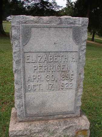 PERRIGEN, ELIZABETH H - Pulaski County, Arkansas | ELIZABETH H PERRIGEN - Arkansas Gravestone Photos