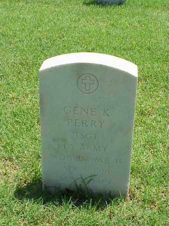PERRY (VETERAN WWII), GENE K - Pulaski County, Arkansas | GENE K PERRY (VETERAN WWII) - Arkansas Gravestone Photos