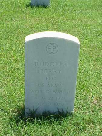 PERRY (VETERAN WWII), RUDOLPH - Pulaski County, Arkansas   RUDOLPH PERRY (VETERAN WWII) - Arkansas Gravestone Photos