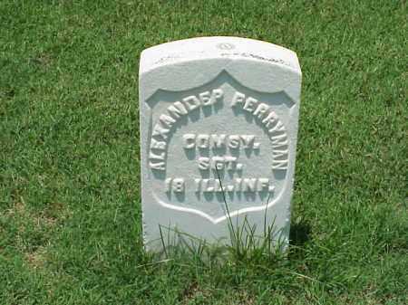 PERRYMAN (VETERAN UNION), ALEXANDER - Pulaski County, Arkansas | ALEXANDER PERRYMAN (VETERAN UNION) - Arkansas Gravestone Photos