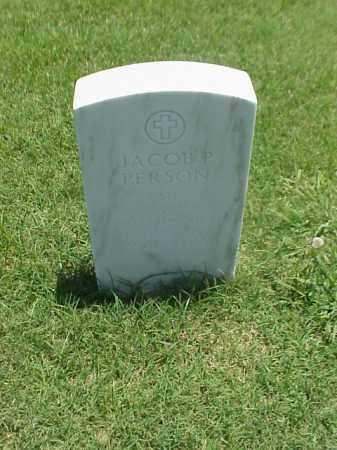 PERSON (VETERAN WWII), JACOB P - Pulaski County, Arkansas   JACOB P PERSON (VETERAN WWII) - Arkansas Gravestone Photos