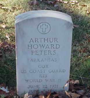 PETERS (VETERAN WWII), ARTHUR HOWARD - Pulaski County, Arkansas | ARTHUR HOWARD PETERS (VETERAN WWII) - Arkansas Gravestone Photos
