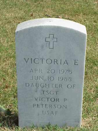 PETERSON, VICTORIA E. - Pulaski County, Arkansas   VICTORIA E. PETERSON - Arkansas Gravestone Photos