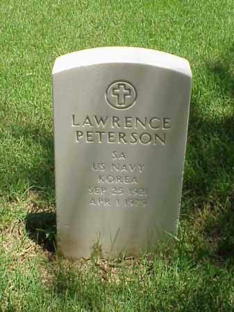 PETERSON (VETERAN KOR), LAWRENCE - Pulaski County, Arkansas | LAWRENCE PETERSON (VETERAN KOR) - Arkansas Gravestone Photos